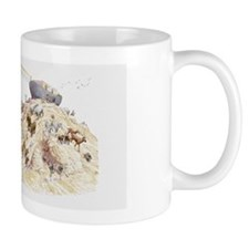 Illustration of Noah's ark with animals Mug