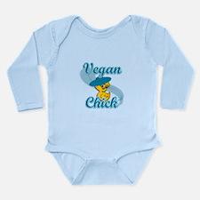 Vegan Chick #3 Long Sleeve Infant Bodysuit