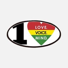 NEW-One-Love-voice-mind5 Patches