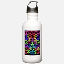 Peace Symbol FF Water Bottle