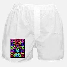 Peace Symbol FF Boxer Shorts