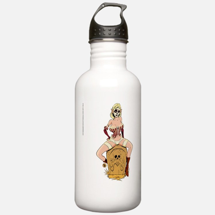 Day of the Dead Dame Water Bottle