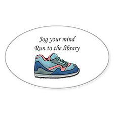 """Jog Your Mind"" Decal"