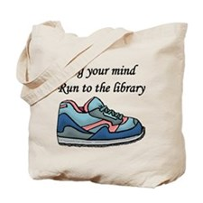 """Jog Your Mind"" Tote Bag"