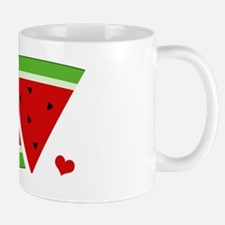 Mr and Mrs Watermelon Mug