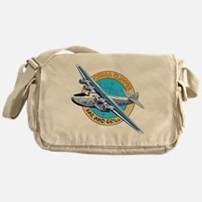 China Clipper Bar and Grill Messenger Bag