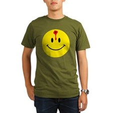 smiley face with bull T-Shirt