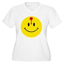 smiley face with  T-Shirt