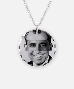 I am Not a Crook! Nixon Obam Necklace