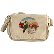 R-Treat-ClumberSpaniel Messenger Bag