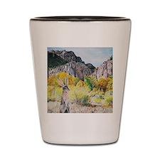 wild hare in Clear Creek Canyon Shot Glass