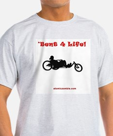 Bent 4 Life Adult T-Shirt (white) T-Shirt