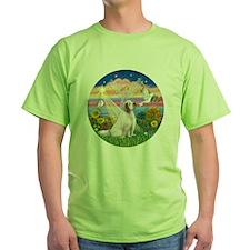 R-AutumnAngel-ClumberSpaniel T-Shirt