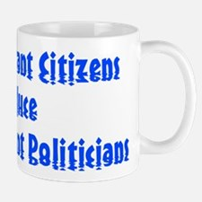 Selfish Ignorant Citizens Produce Selfi Mug