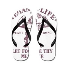 Vegan for Life Flip Flops