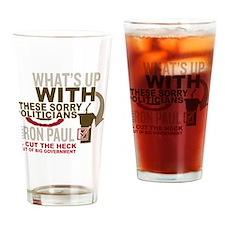 Ron Paul 2012 Drinking Glass