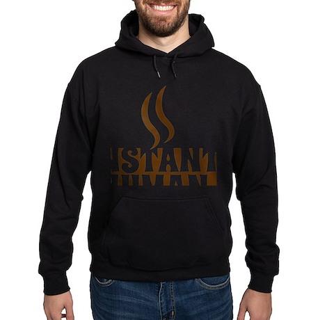 instant human Hoodie (dark)