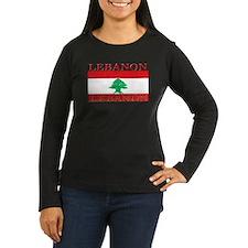Lebanon Lebanese Flag T-Shirt