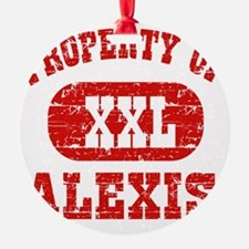 Property of Alexis Ornament