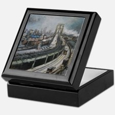 Vintage NYC Brooklyn Bridge Keepsake Box