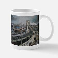 Vintage NYC Brooklyn Bridge Mugs