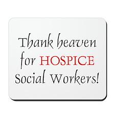 Thank Heaven Hospice BRT Mousepad