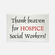 Thank Heaven Hospice BRT Rectangle Magnet