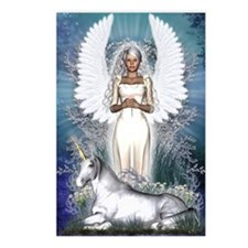 Angel and Unicorn Postcards (Package of 8)