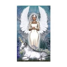 Angel and Unicorn Decal