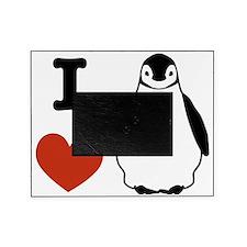 I love Penguins Picture Frame