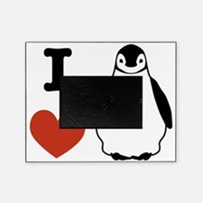 I love Penguins Picture Frame