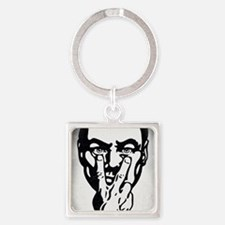 Big Brother is Watching You Square Keychain