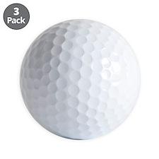 K.A. White Golf Ball