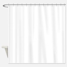 K.A. White Shower Curtain