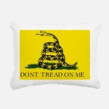 Gadsden Flag Rectangular Canvas Pillow