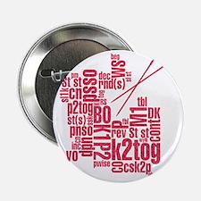 """K.A. Pink 2.25"""" Button"""