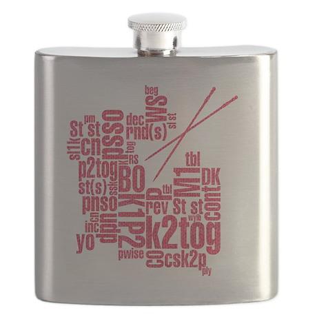 K.A. Pink Flask