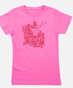 K.A. Pink Girl's Tee