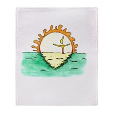 Chalice Sun Throw Blanket