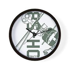 OH-58 Kiowa Wall Clock