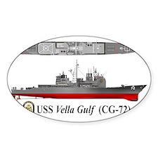 USS Vella Gulf CG-72 Decal