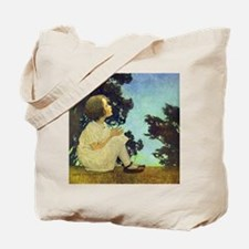 A Childs Book - Wish upon a star_SQ Tote Bag