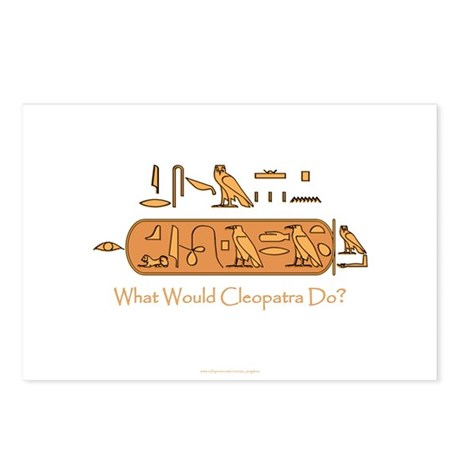 What Would Cleopatra Do? Postcards (Package of 8)