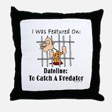 To Catch A Predator Throw Pillow