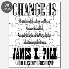 Change is James K. Polk Puzzle