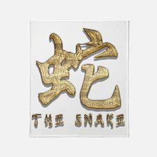 Snake54 Throw Blanket