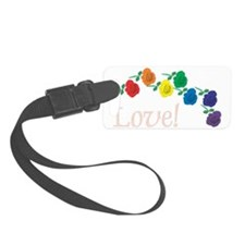 Love Roses Luggage Tag