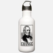 Change is... James K.  Sports Water Bottle