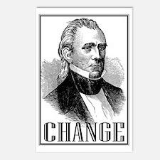 Change is... James K. Pol Postcards (Package of 8)