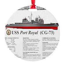 USS Port Royal CG-73 Ornament